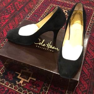 Cole Haan Carma Air Pump black suede